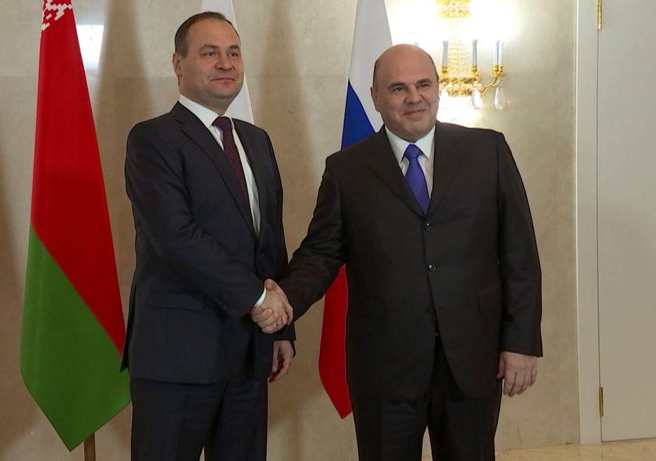 В Минск летит российский премьер-министр