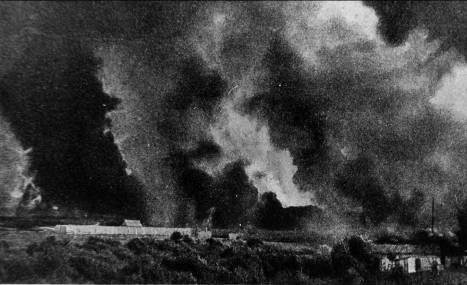 Пожар в г. Слоним, XIX век (фото из Слонимского