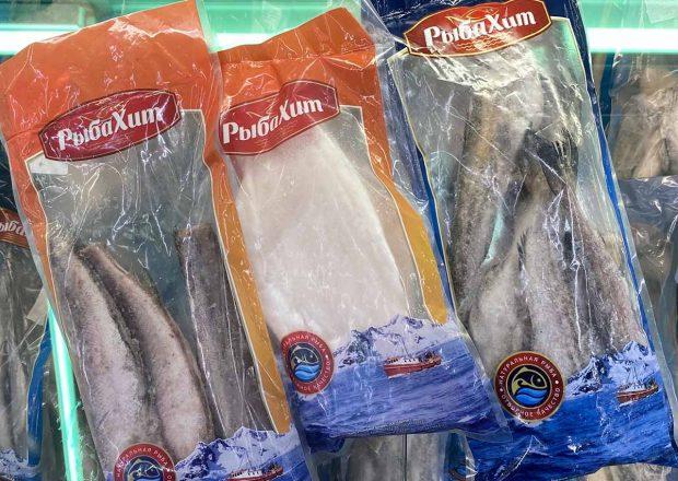 В магазинах «Евроопт» Гродненщины подешевела рыба