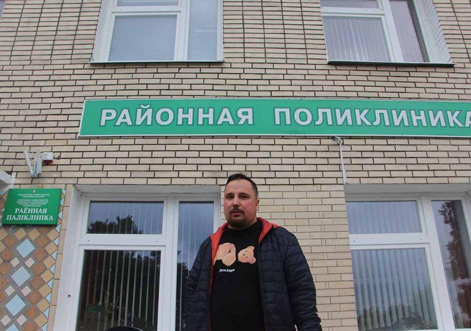 На слонимчанина Александра Салейко давление продолжается