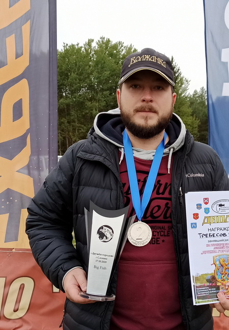 Обладатель Кубка BigFish Сергей Требесов