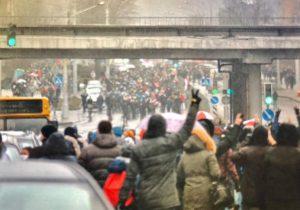 Минск закипел! Протестующие собираются в колонны с разных уголков столицы