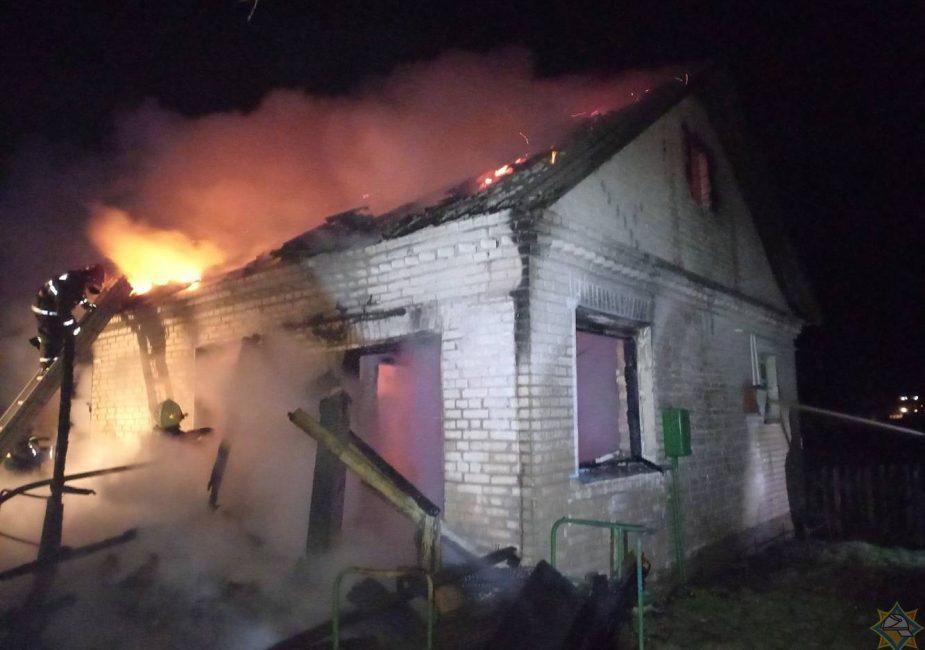 пожар особняки