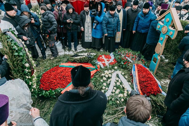 похороны филарета
