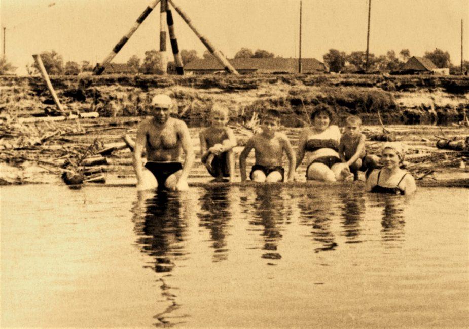 У Слоніме на Шчары пасля вайны
