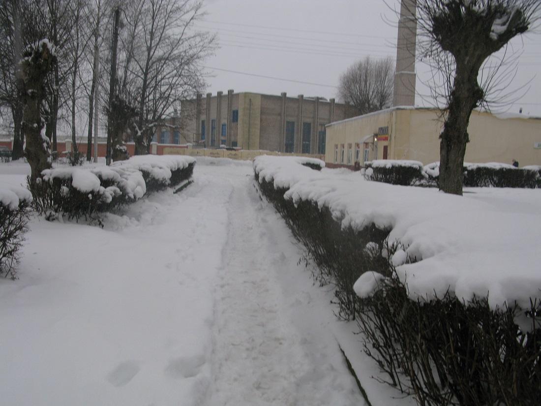 Снежная дарога