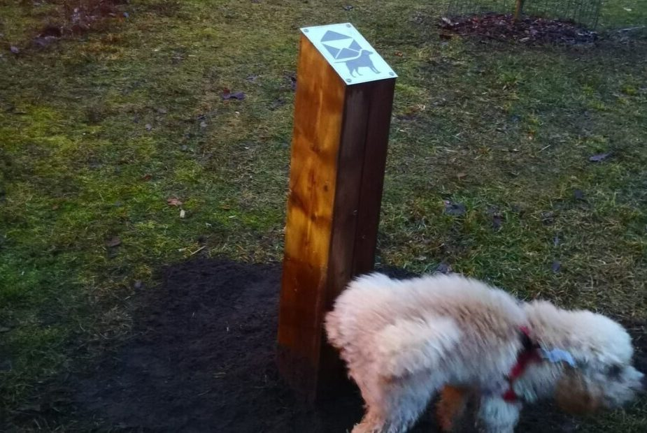 Столбик для собак