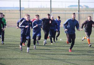 ФК Слоним 2017 на тренировке