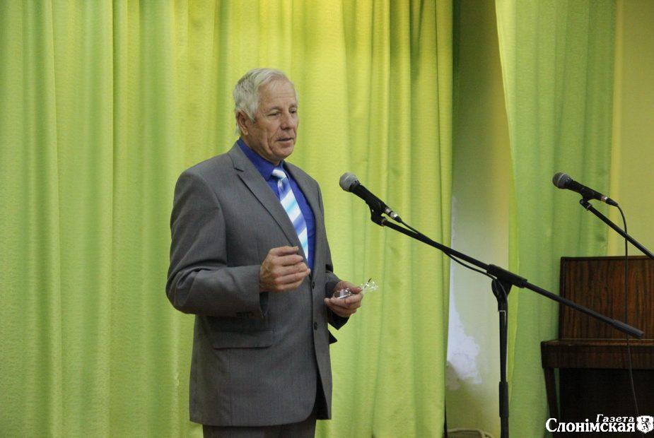 Уладзімір Лабко на сцэне
