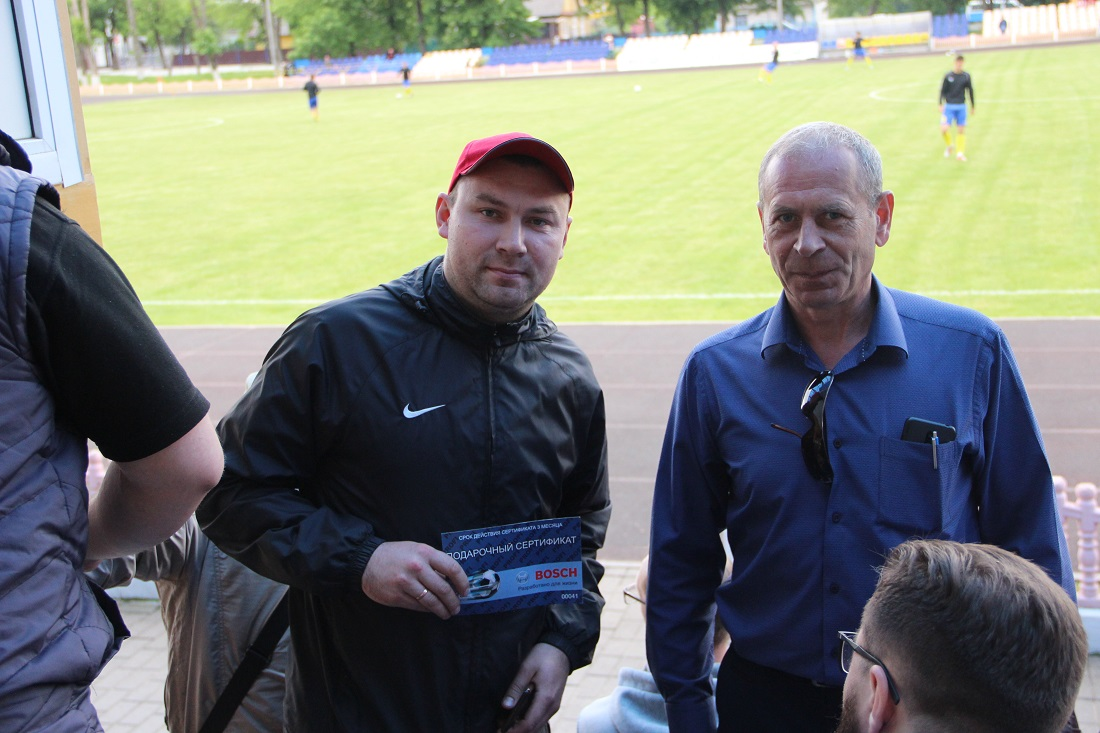 """Победитель лотереи и директор ФК """"Слоним 2017"""""""