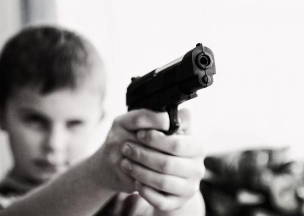пистолет ребенок
