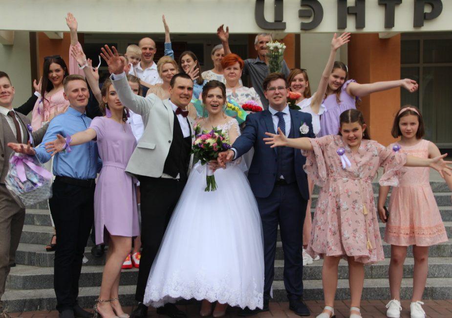 Поздравляем Сергея и Анастасию!