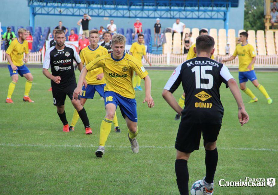 Сегодня в Слониме футбол: ФК «Слоним-2017» сыграют против НФК «Крумкачы»