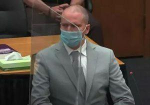 К 22,5 года лишения свободы приговорили полицейского, который задушил Джорджа Флойда