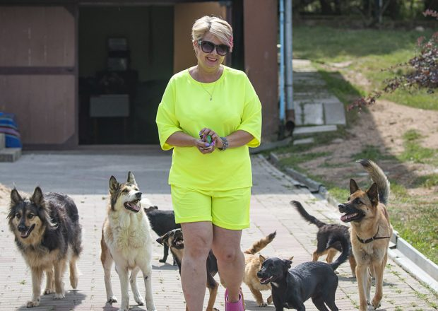 Слонимчанка Оксана Савчук: «Быть волонтером стало опасно»
