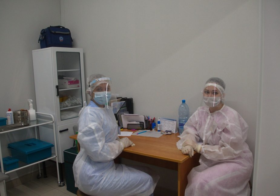 Новый прививочный пункт от COVID-19 открылся в Слониме