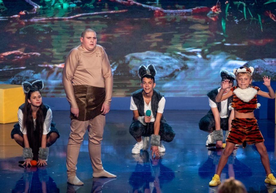 Слонимская детская команда КВН «Пушка» выступила на московской сцене